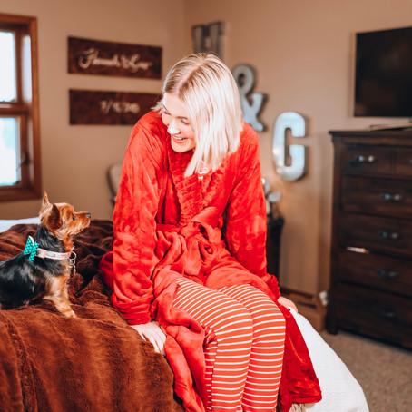 25 Days of Holiday Style! ~Day 5~ Christmas Morning Pajamas
