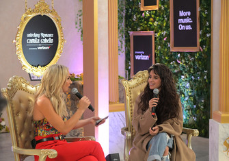 Verizon+Camila+Cabello+Host+Pop+Up+Q+Los