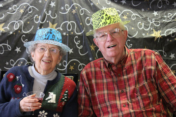 Don and Rose ringing in 2018!