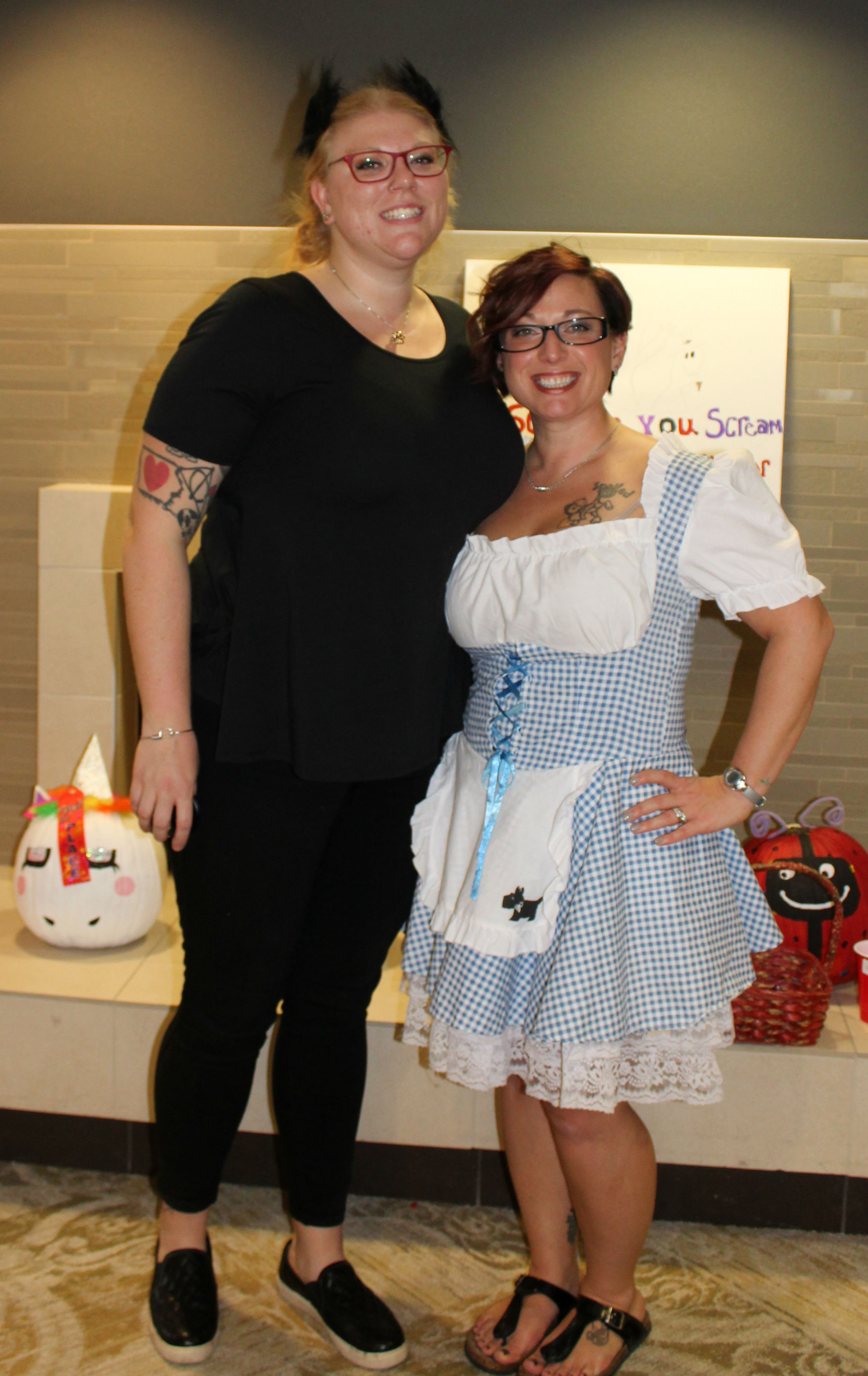 Our very own Dorothy and Toto!