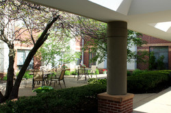 Enjoy a lovely day in our courtyard!