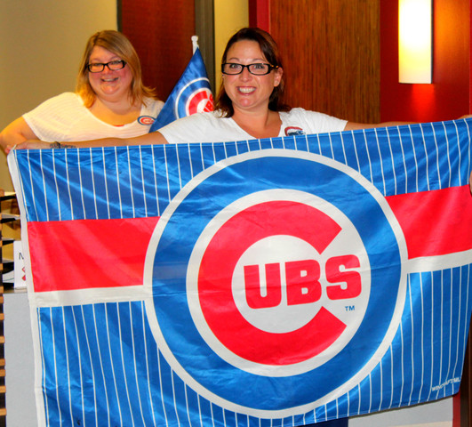 We've got some of the most loyal Cubs fans living and working right here in our community!