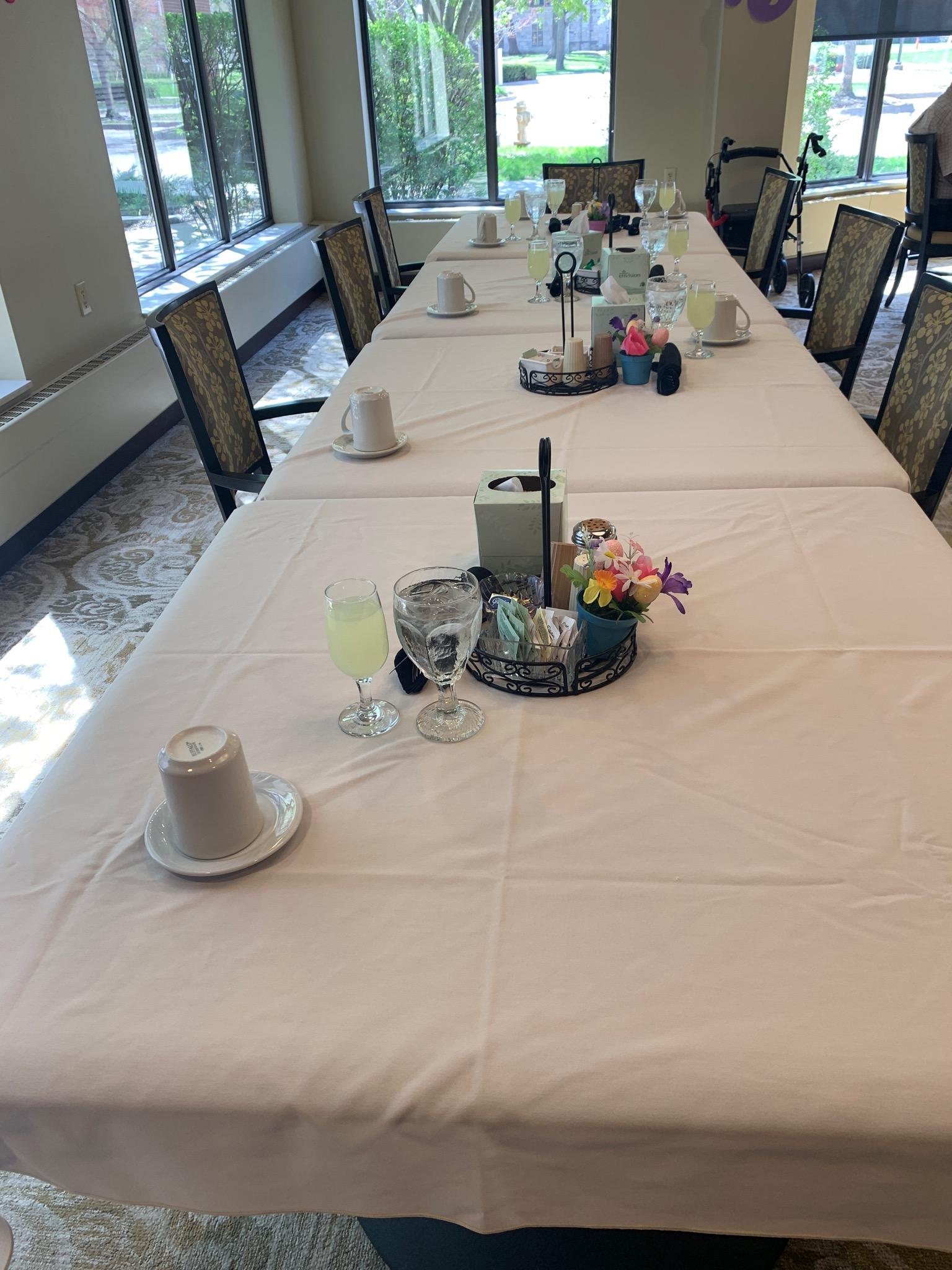 Ready for Easter dinner