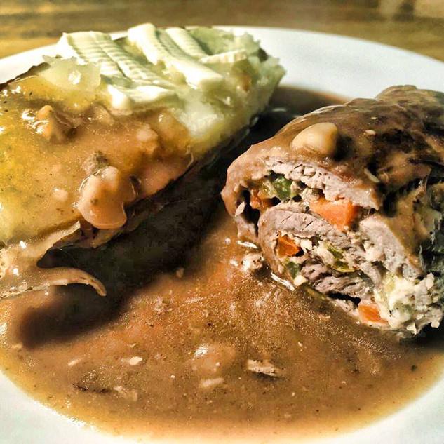 Rainy Day Roast Beef Rouladen