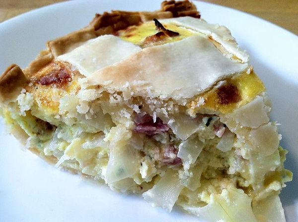 zwiebelkuchen onion quiche tart