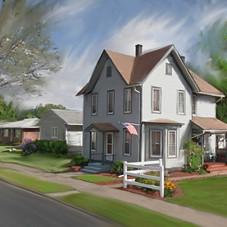 Mrs. Hazen's House, Elmira, NY