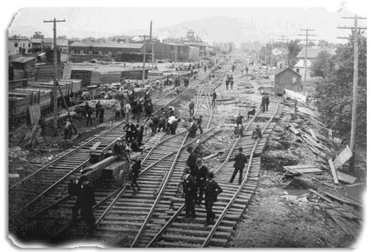 chemung river flood 1889