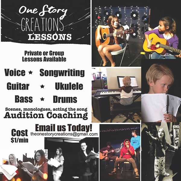 voice and guitar lessons