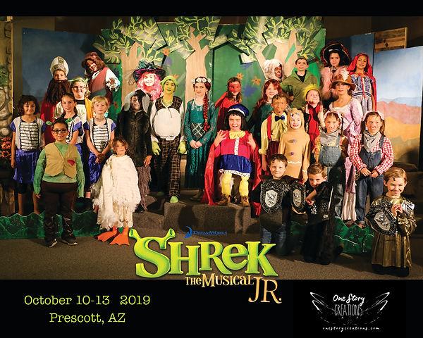 Shrek JR in Prescott, AZ 2019
