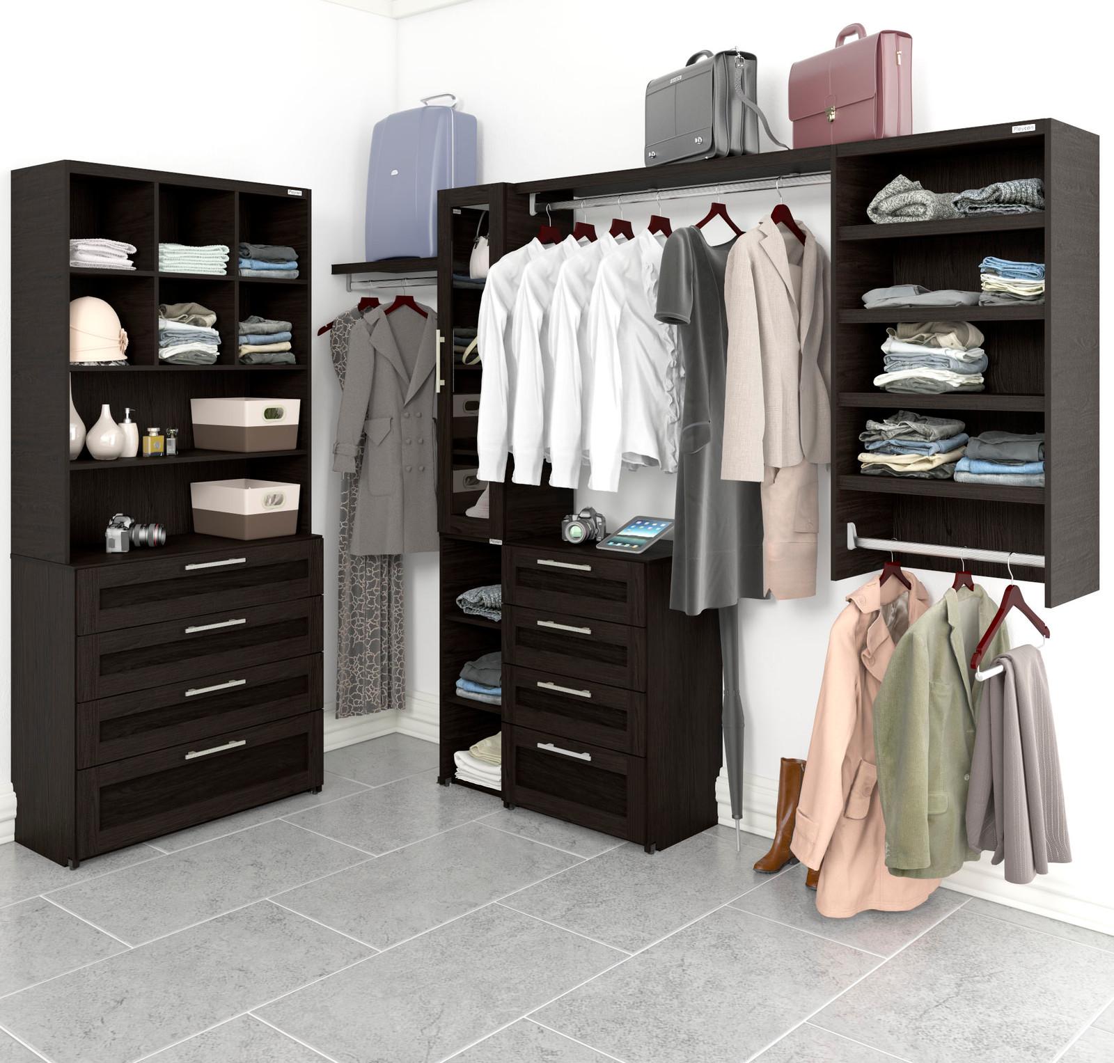 Dimensiones de closet medidas ideais para closet ou la for Closets df precios