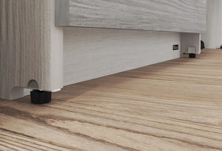 Soportes niveladores a piso