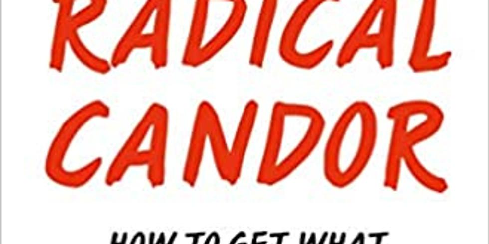 SCV SWE Book Club - Radical Candor