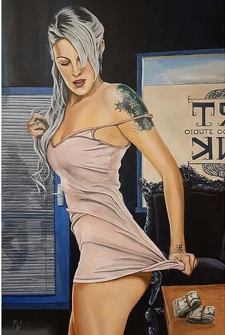 Birthday,sexy,ink,inkedgirl,tattoo,lingerie,original, artwork