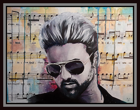 George.michael,wham.faith,music,icon,legend,star,original,art