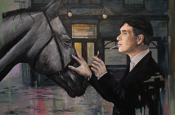 art,original,peakyblinders,thomasshelby,shelby,markfox,original,horse,tv,garrison