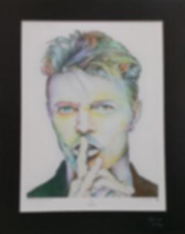 David,Bowie,Art,Original,Print,Mark,Fox
