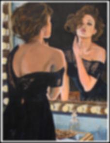 art,artist,original,markfox,sexy,painting,woman