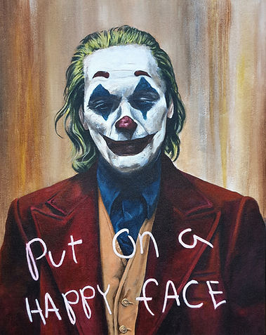 Joker,batman,original,art,acrylic,painting,awesome,new