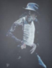 Art,Original,Painting,Portrait,Michael,Jackson,Jacko,Icon,King,Mark,Fox