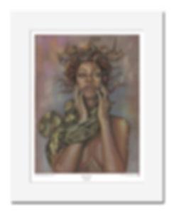Rihanna,Medusa,Art,Print,Original,Mark,Fox