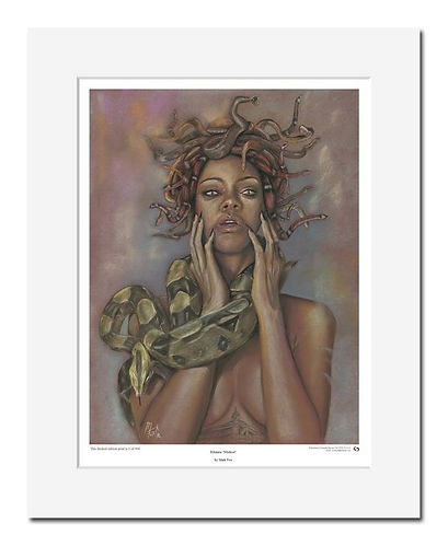 Rihanna,Medusa,Art,Print,Original,Mark,Fox