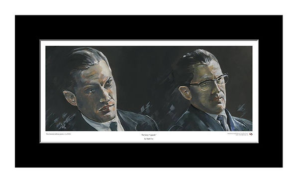Krays,Ronnie,Reggie,Twins,Legend,Art,Print,Original,Mark,Fox