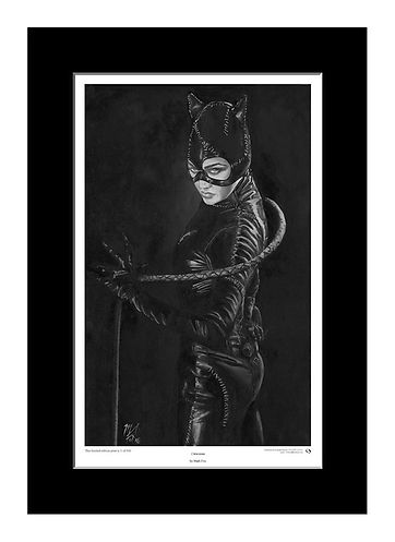 Catwoman,Art,Original,Print,Mark,Fox