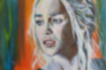 Art,artist,portrait,painting,original,print,acrylic,oils,movie,film,classic,icon,hero,sexy,gameofthrones,blonde