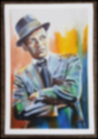 franksinatra,sinatra,blueeyes,art,print,ratpack,artwork,singer,crooner,icon,60s