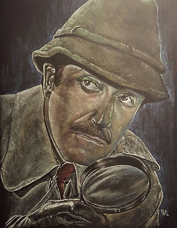 Art,Artist,Original,Painting,Comedy,Classic,Legend,Mark,Fox,Peter, Sellers,Clouseau