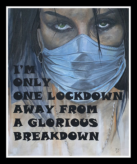 art,acrylic,artist,portrait,painting,awesome,markfox,original,sexy,lockdown