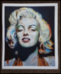 Marilyn,monroe,artprint,art,sexy,icon,classic,painting,print,artist,limited