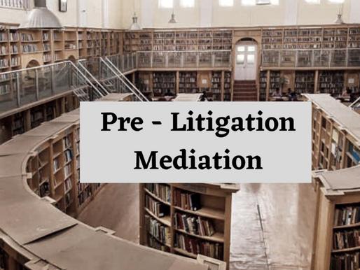 Pre-Litigation Mediation Model in India
