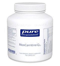 Pure Encapsulations - Ribo Carnitine-Q10- 180 caps