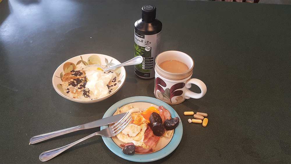Gary's healthy athlete's breakfast