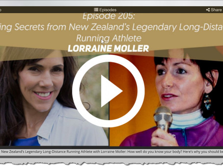 Here's an interview between two running greats