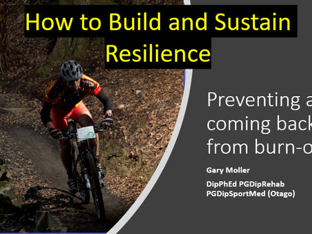 How to Build and Sustain Resilience in Athletes