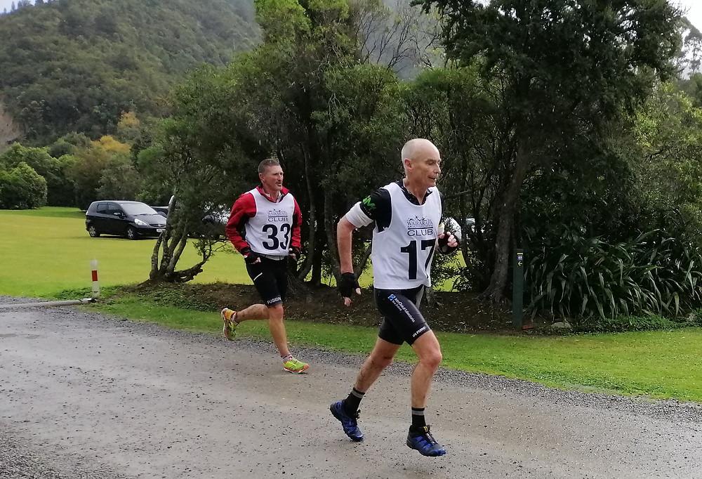Gary running