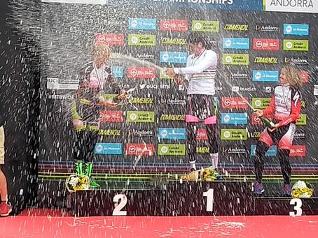A Ferrari beat me at the UCI Masters Mountain Bike World Championships!