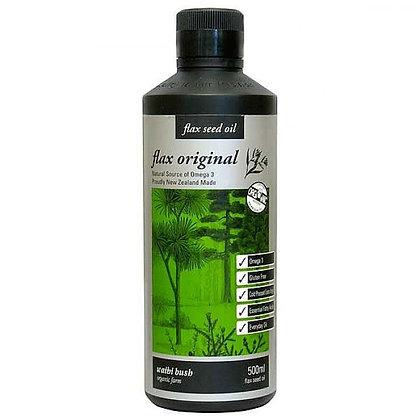 Waihi Bush Oil Flax Original - 500mls