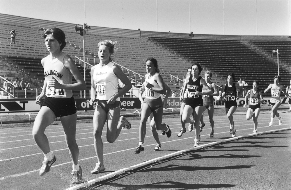 NZ 3 km championships about 1980