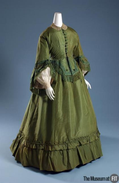 Arsenic laced Victorian Gown