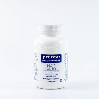 Pure NAC 900 mg 120 capsules