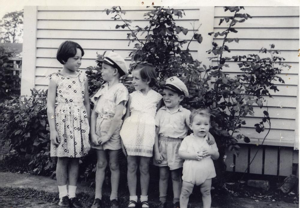 The Moller Children (5/6) circa 1960