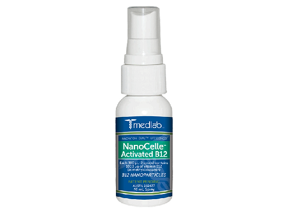 Nanocell Activated B12 Oral Mucosal Spray 30ml