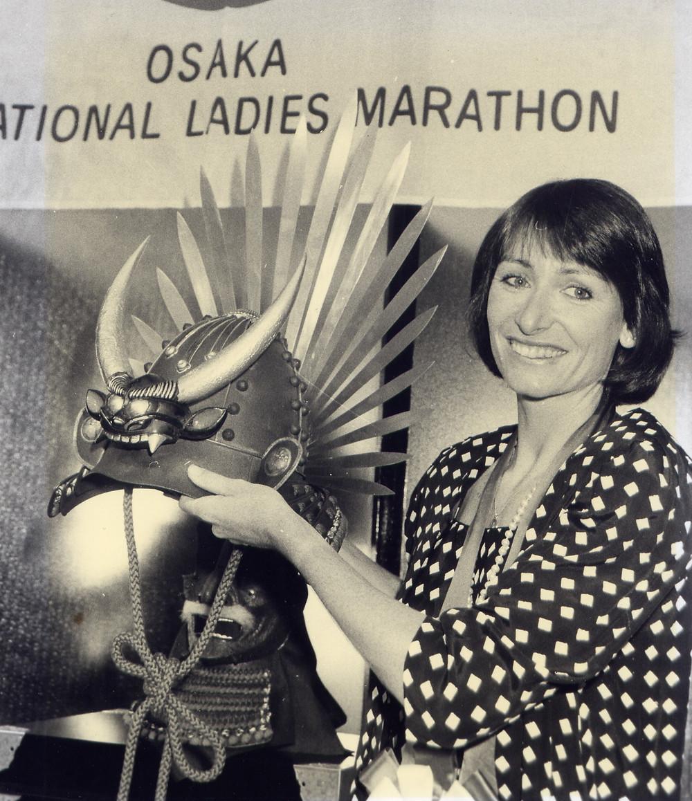 Lorraine Moller Osaka Marathon Winner