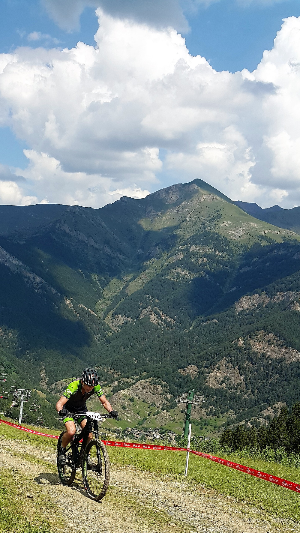 An example of intense, brutal exercise at high altitude