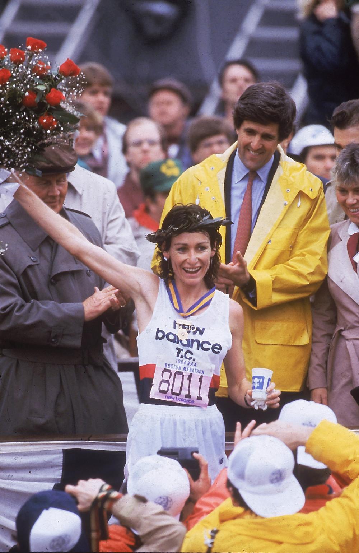 Lorraine Moller, Boston, 1984