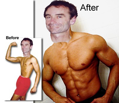 The author demonstrating the astonishing benefits of Intermittent Fasting.