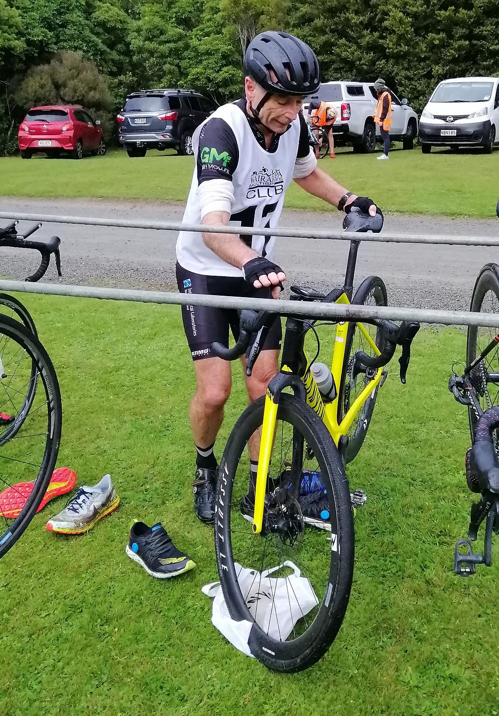 Gary bike transition